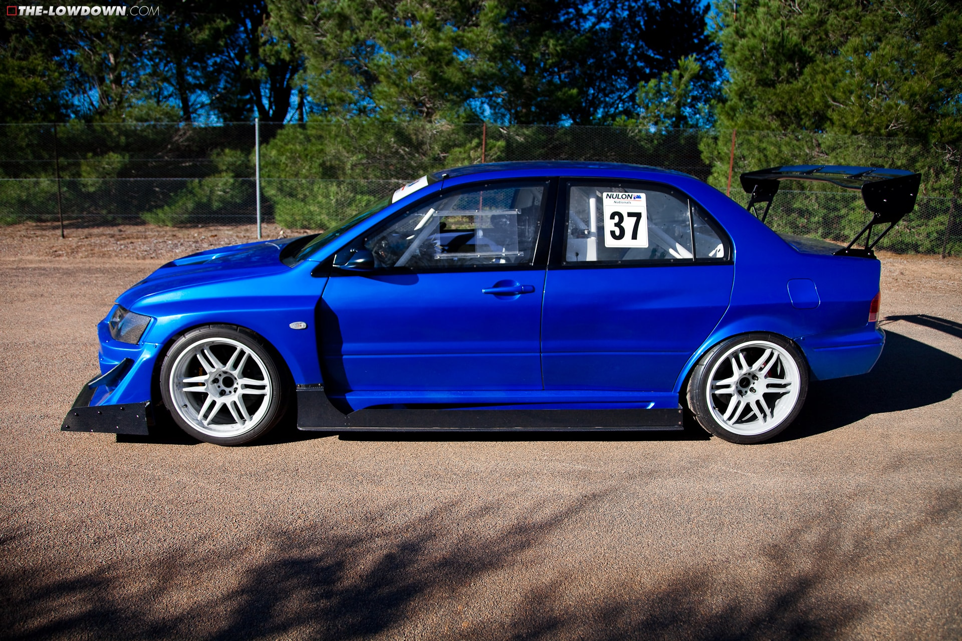 is motor racing varis widebody evo sprayed in bayside blue what do you guys think full article specs http bit ly ismr tld evo