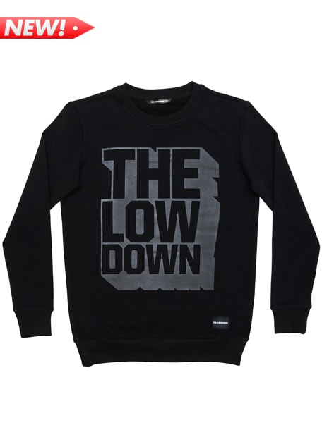 Block Crew Black Jumper