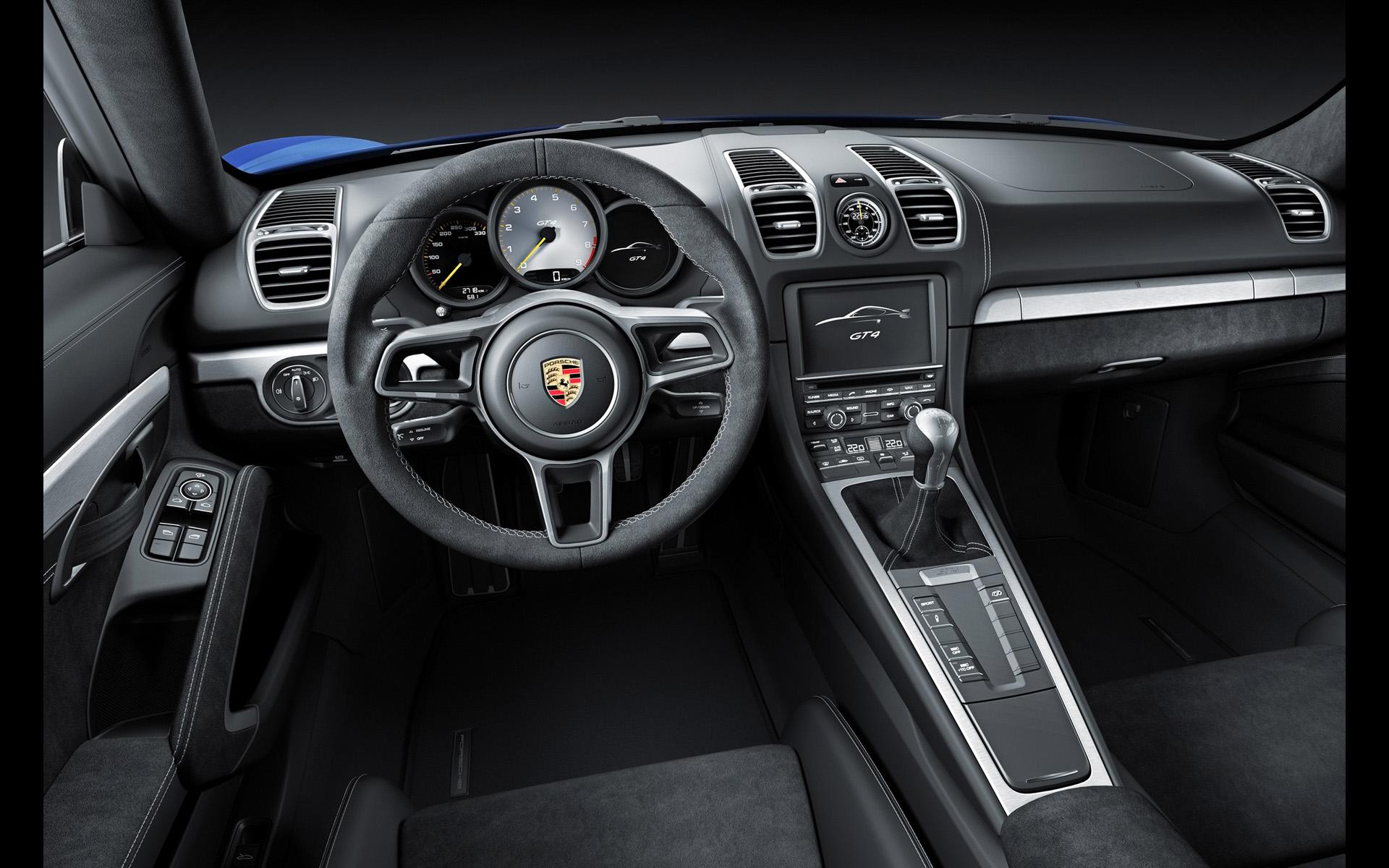 A Closer Look at the Porsche Cayman GT4