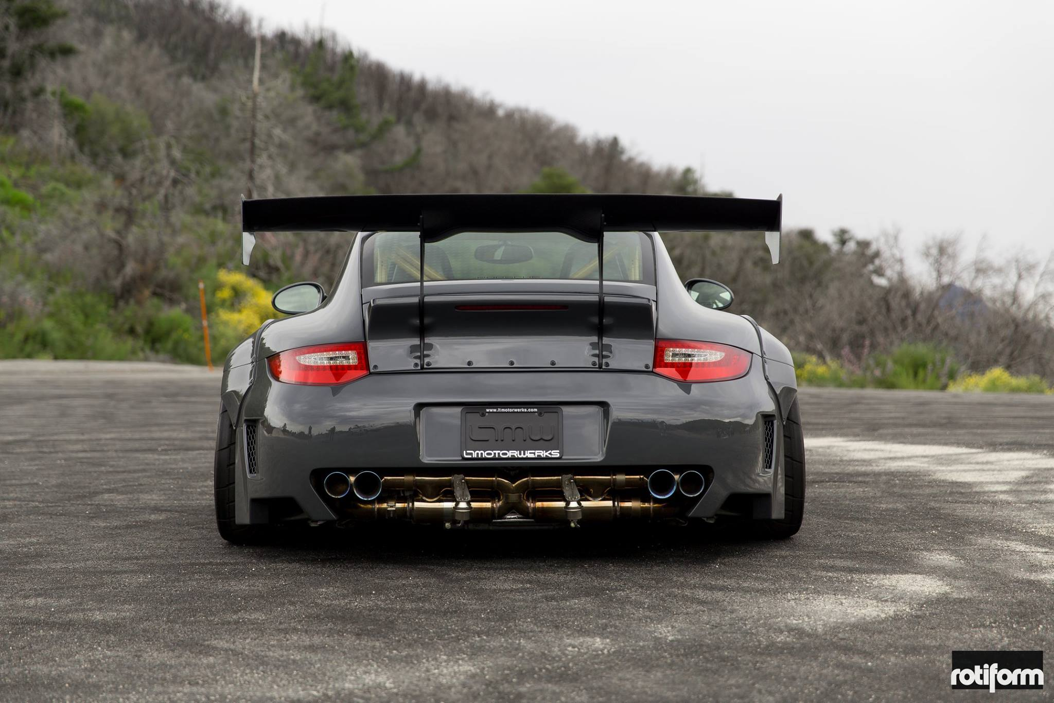1000 Hp Gtr >> Rotiform Wheels x LTMW Liberty Walk Porsche 997 | THE-LOWDOWN