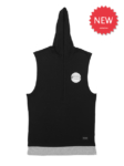 THE-LOWDOWN Hooded Tank