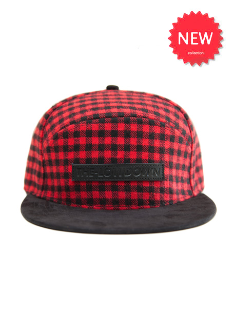 Checked Cap