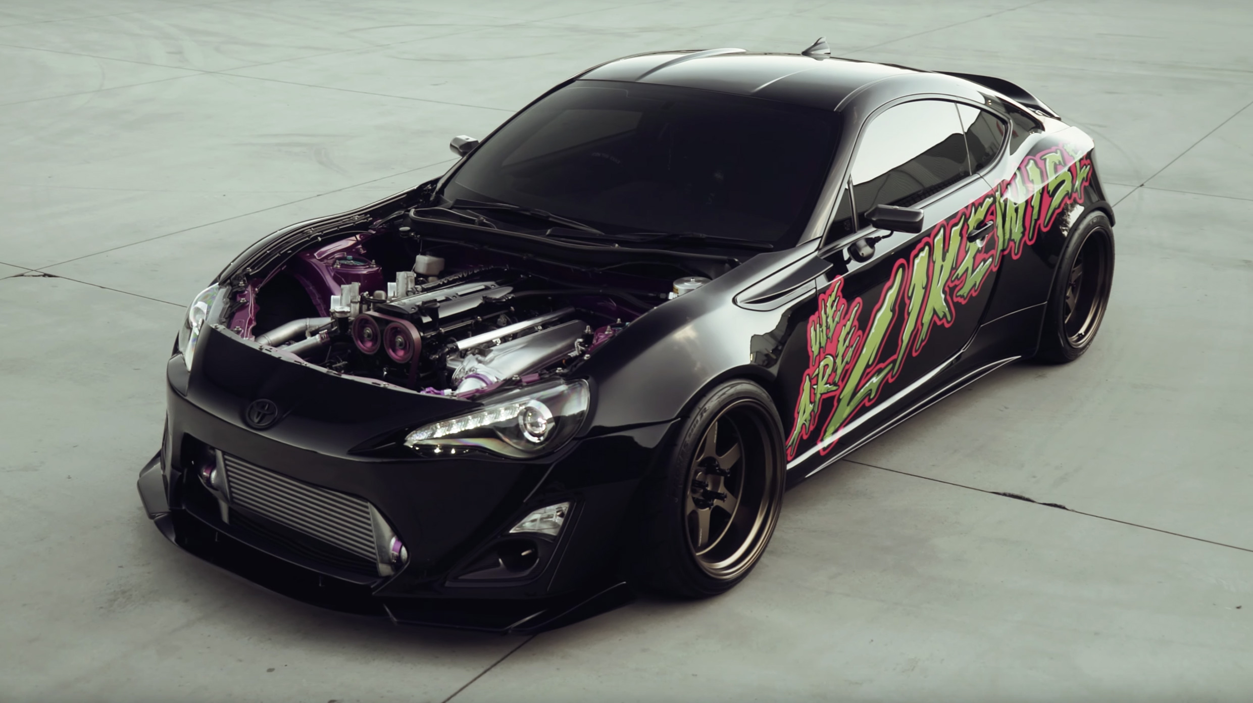 We Are Likewise, Twin Turbo 2JZ Toyota 86