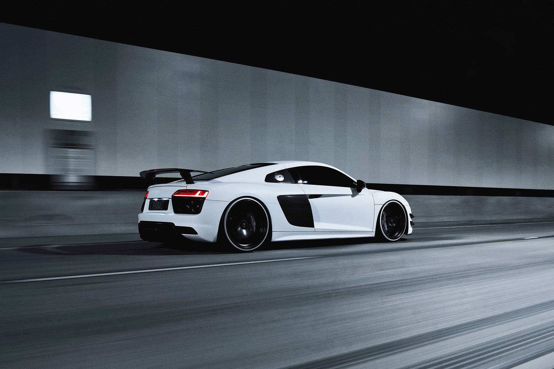 Less Is More: Audi R8
