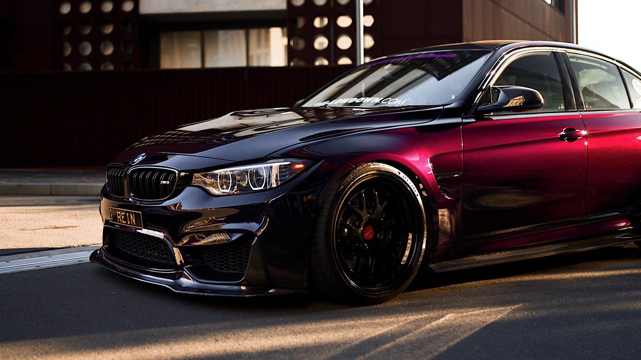 The Wheel & Tyre Connoisseur: Purple REIN BMW M3